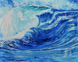 THE WAVES by ARTBYTERESA