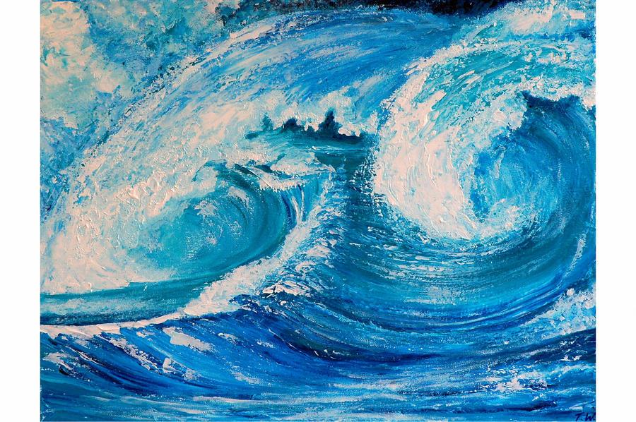 DEEP OCEAN by ARTBYTERESA
