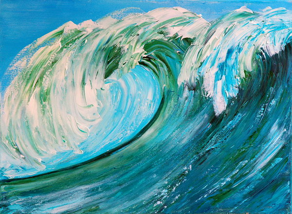 THE WAVE II by ARTBYTERESA