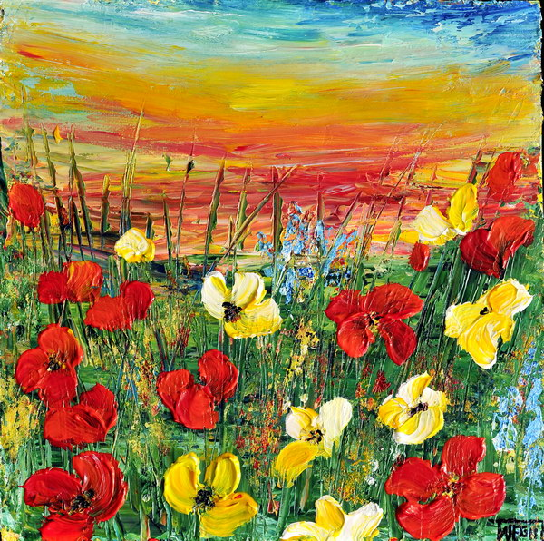 POPPIES by ARTBYTERESA