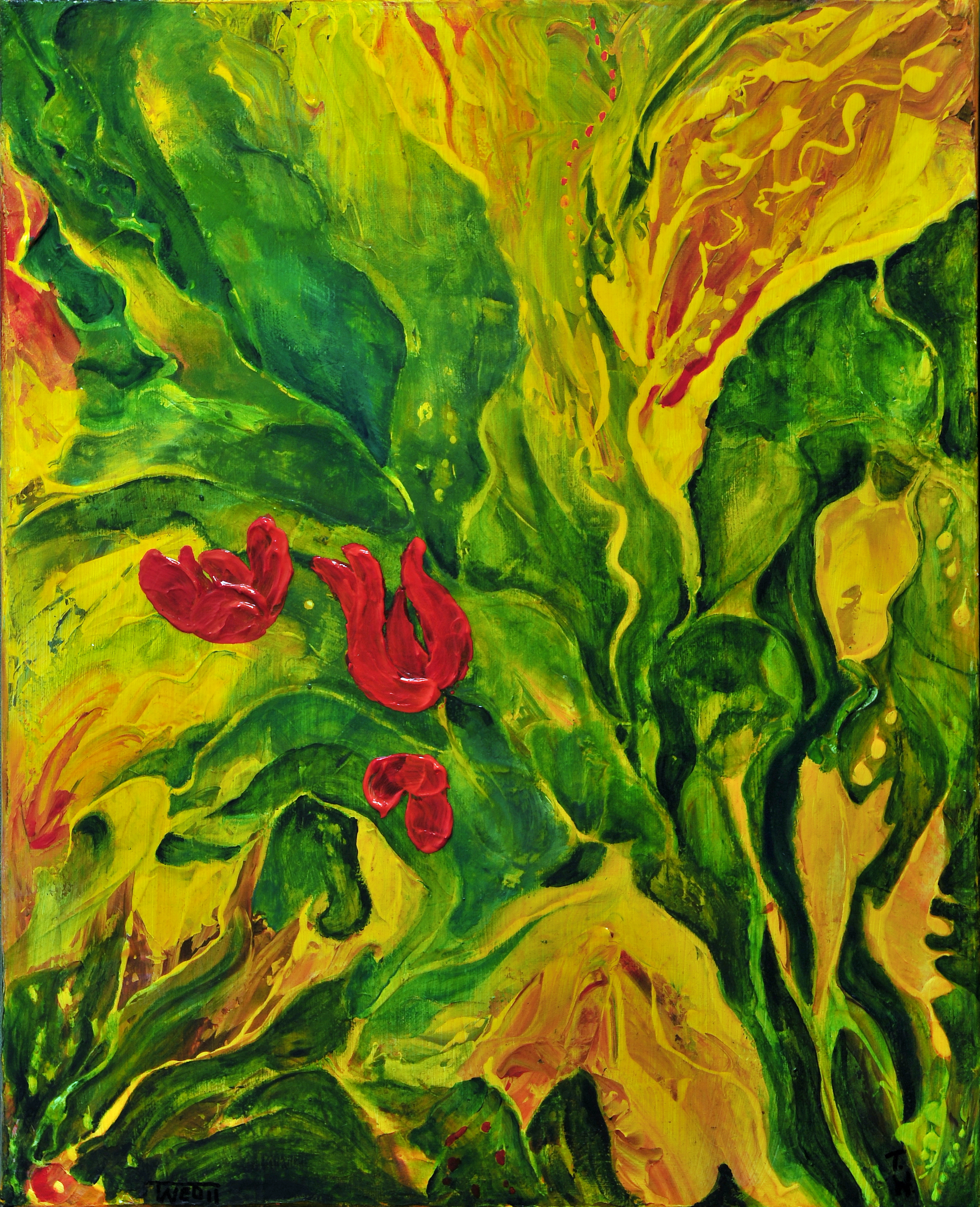 Garden SERIES I by ARTBYTERESA
