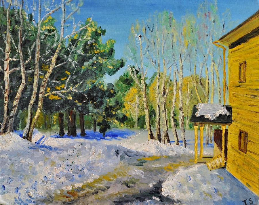WINTER DAY by ARTBYTERESA