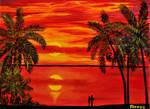 MAUI SUNSET by ARTBYTERESA