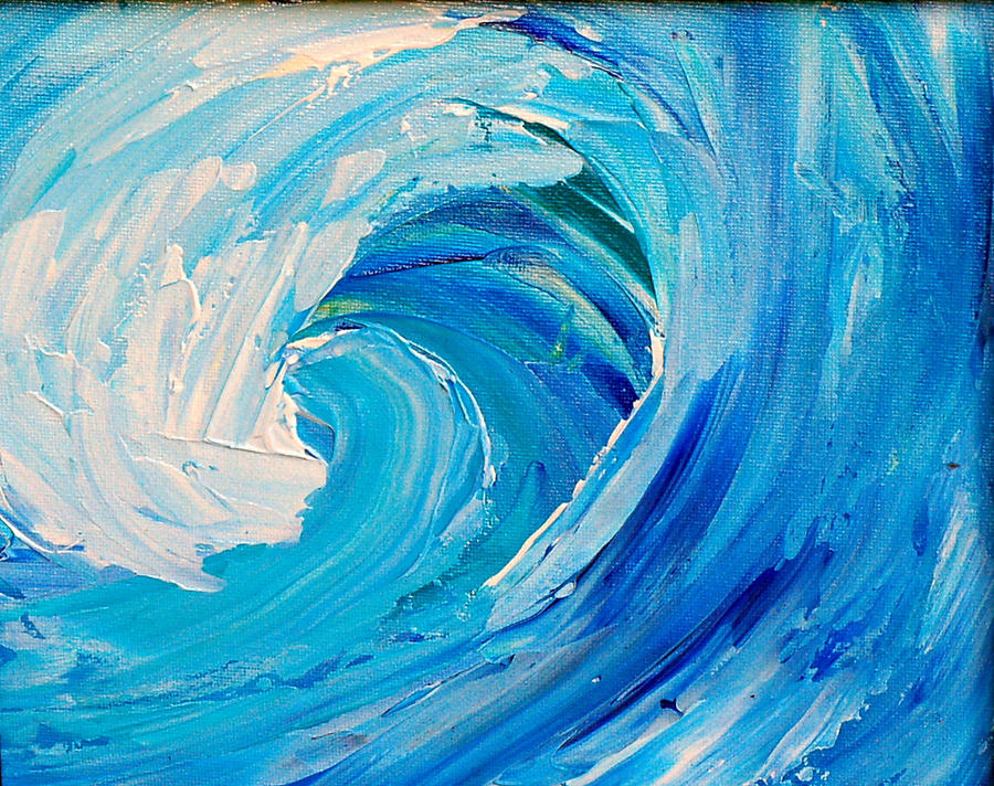 BLUE WAVE by ARTBYTERESA