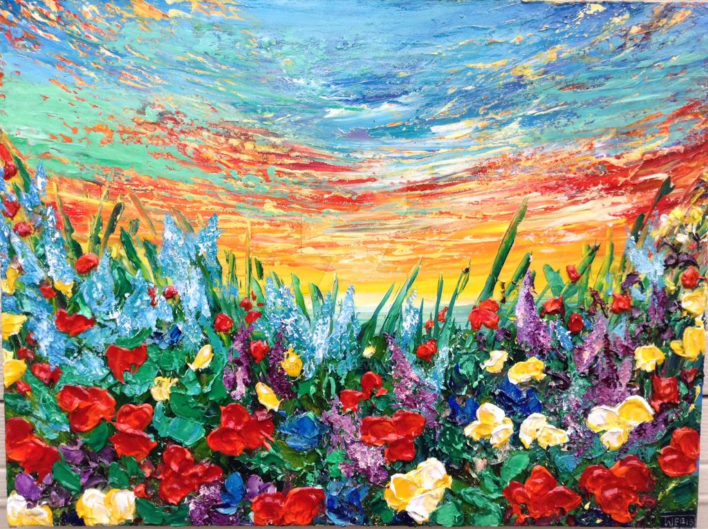 ANOTHER BEAUTIFUL SUNSET by ARTBYTERESA