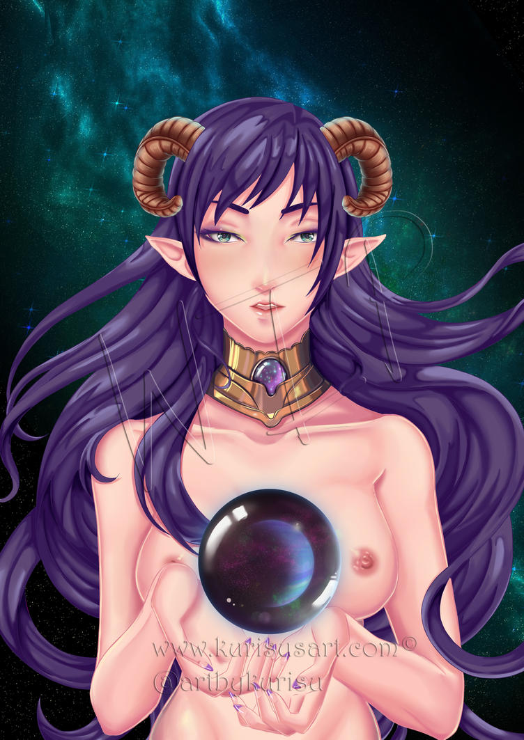 Mother of Galaxy WIP by artbykurisu