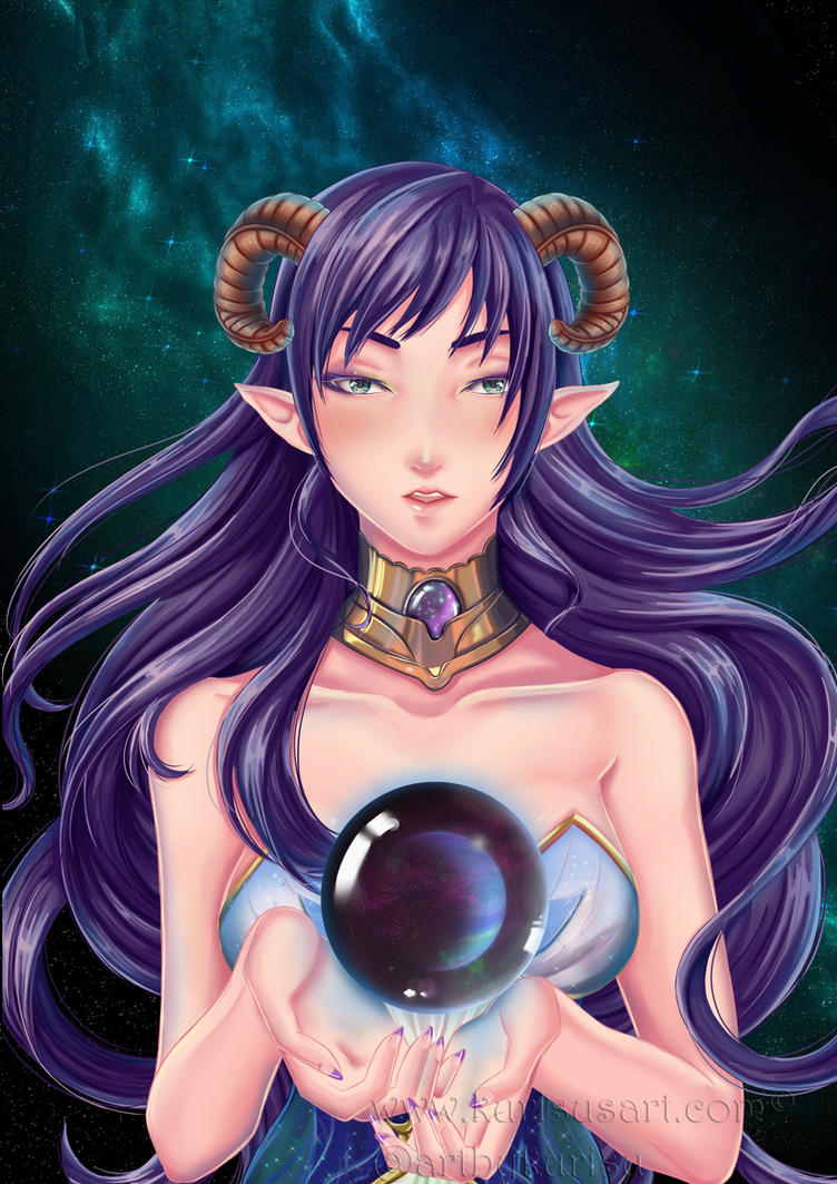 Mother of Galaxies by artbykurisu