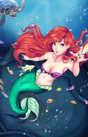 Ariel by artbykurisu