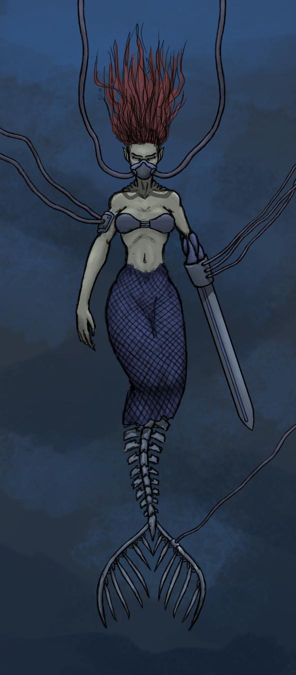 Experiment Mermaid by killerpool