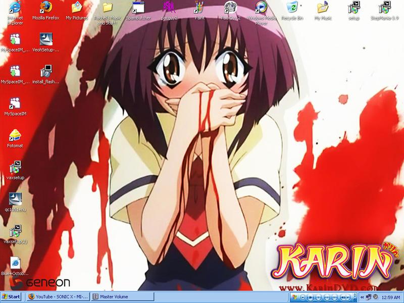 .:My desktop SCREENSHOT:. by xxXSonic-And-AmyXxx