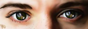 In the eyes of my fall by Essiepaintsfeels