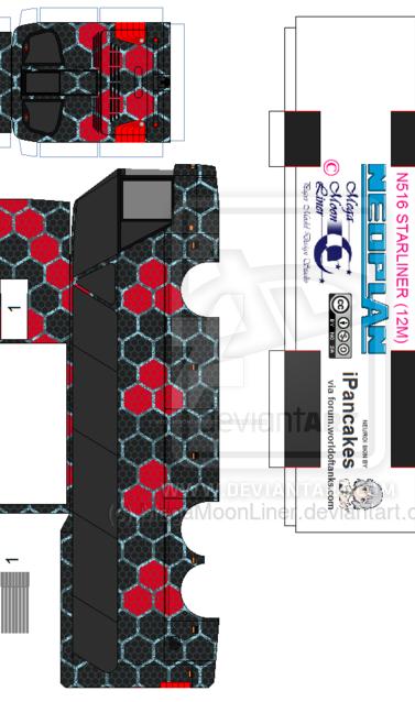 Neoplan N516 12m 'Neuroi' by MegaMoonLiner