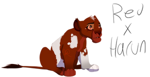 Breedable Result: Red X Harun by RedTheLioness