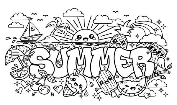summer doodle by bamo crafts on deviantart