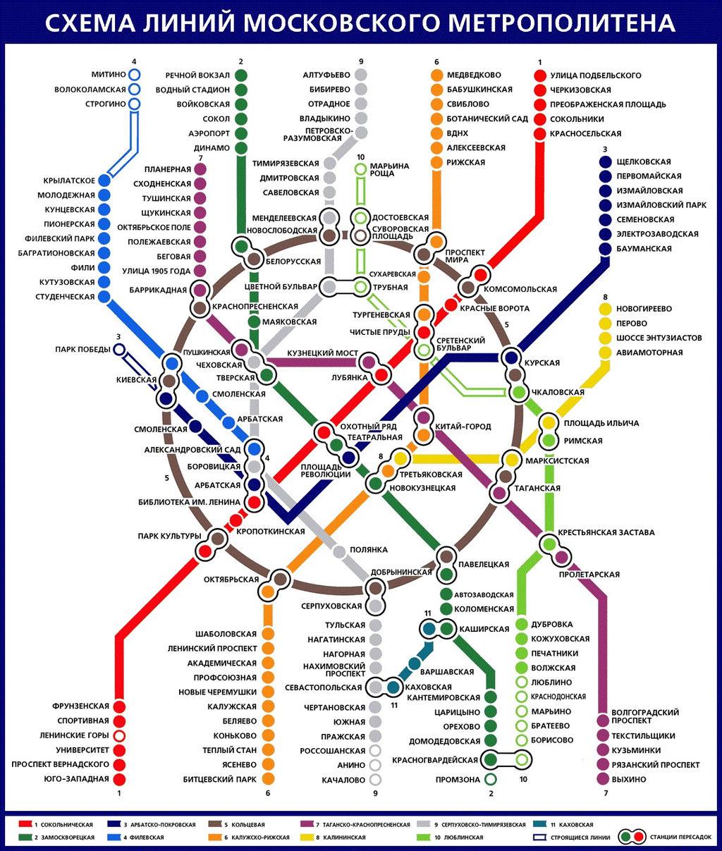 Белорусская станция метро замоскворецкая линия схема