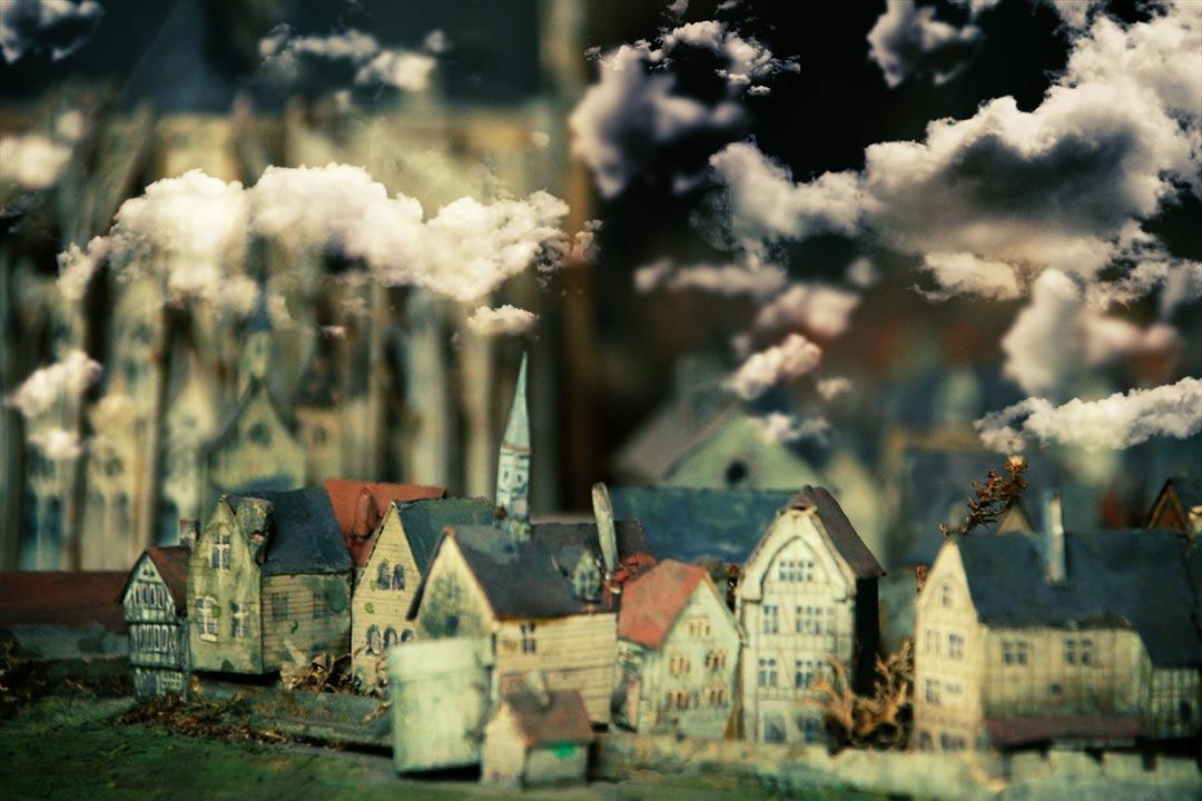 Miniature Lost City by dogeatdog5