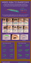 Face-up eyebrow Guide Pt. 1