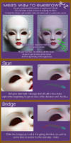 Faceup eyebrow Guide Pt. 2 by Meanae