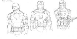 Mercenary sketch