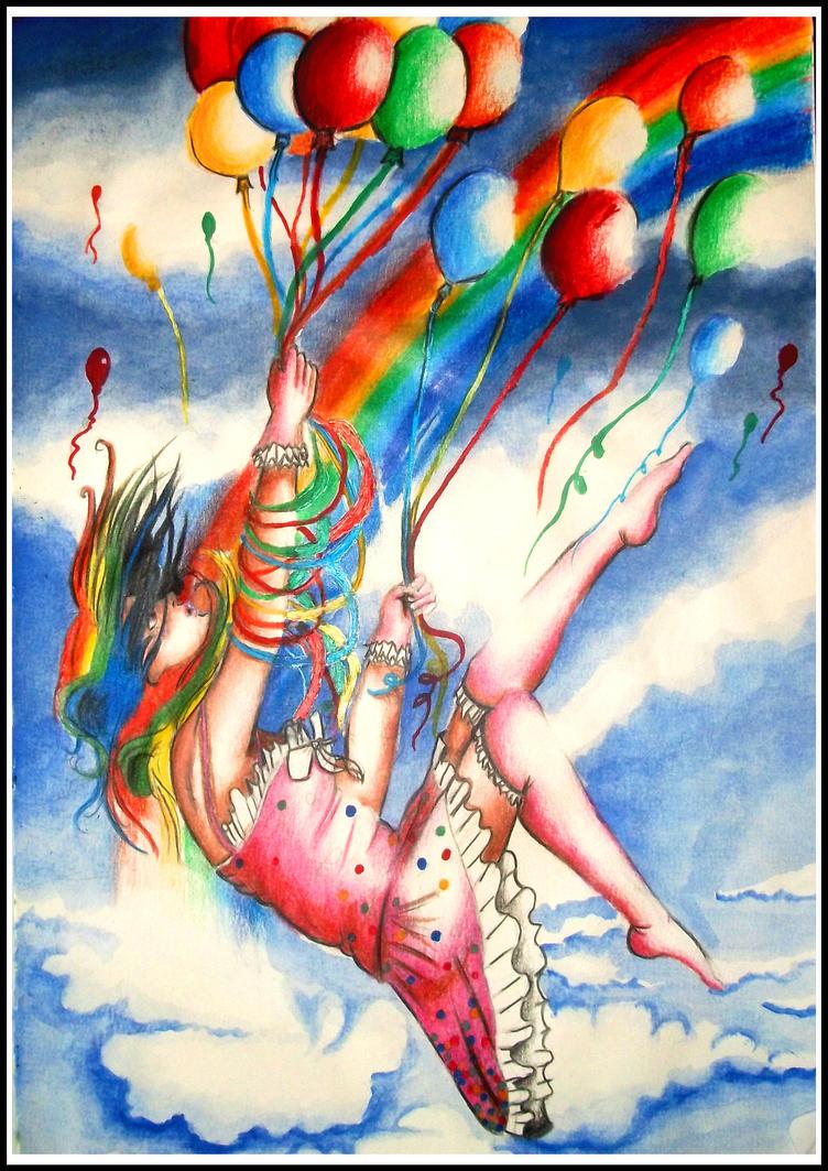 Catch me rainbow by scarlet-light