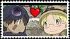 Reg and Riko stamp by agirlofmany-emoticon