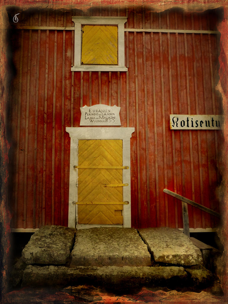 House of God. Yellow Door by SineLuce