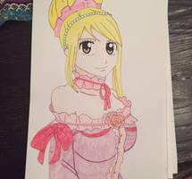 Lucy heartfilia. ~ by dakotaaaaaa-chan