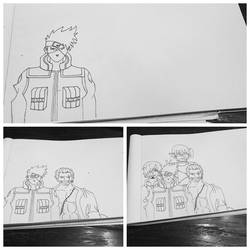 Work in process~ drawing the sexiest anime men imo by dakotaaaaaa-chan