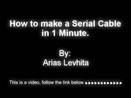 1 Minute Serial Cable