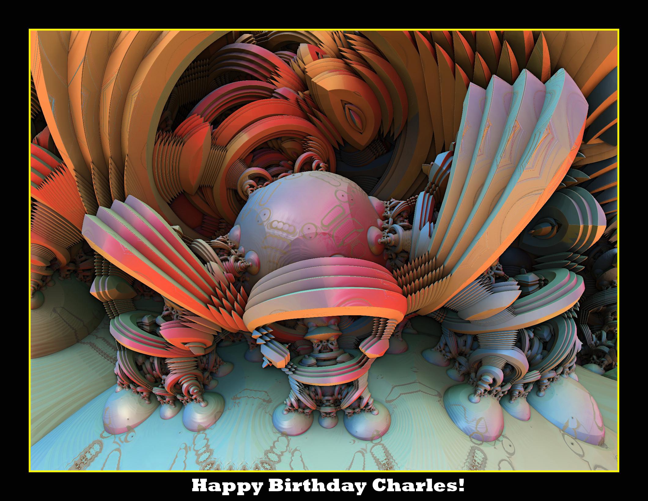 Happy Birthday Charles! by LightBulbMoon