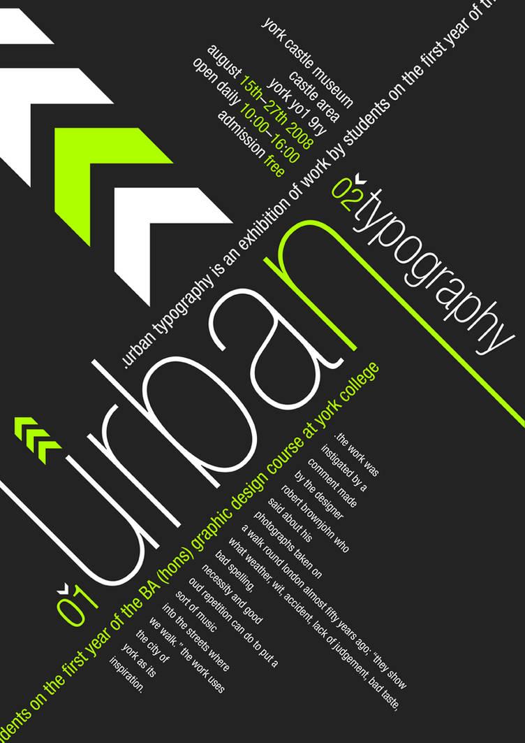 Urban Typography by andrewackroyd