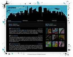 My 'Old' Website by andrewackroyd
