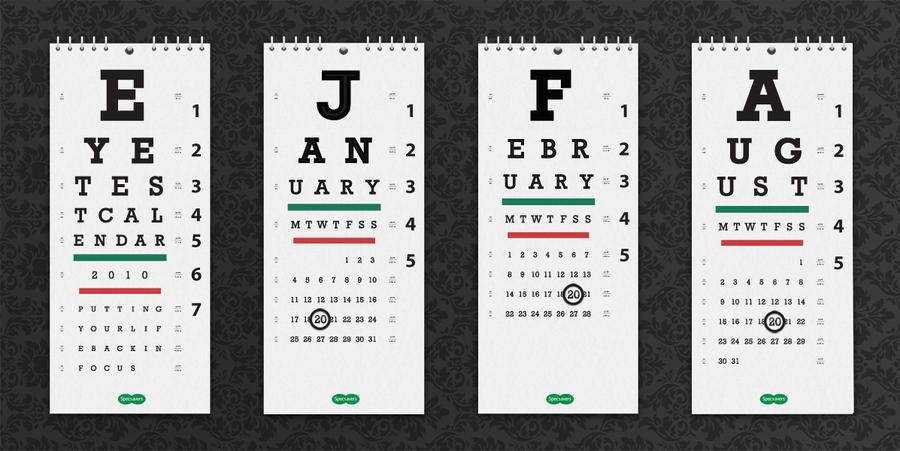Creative Calendar Designs : Creative calendar by andrewackroyd on deviantart