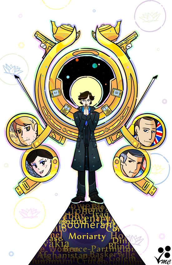 Sherlock:. Mind Palace by Linkakami