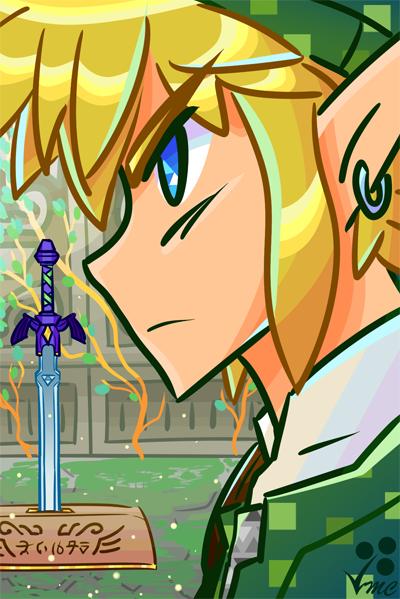 Fan Art- Link by Linkakami