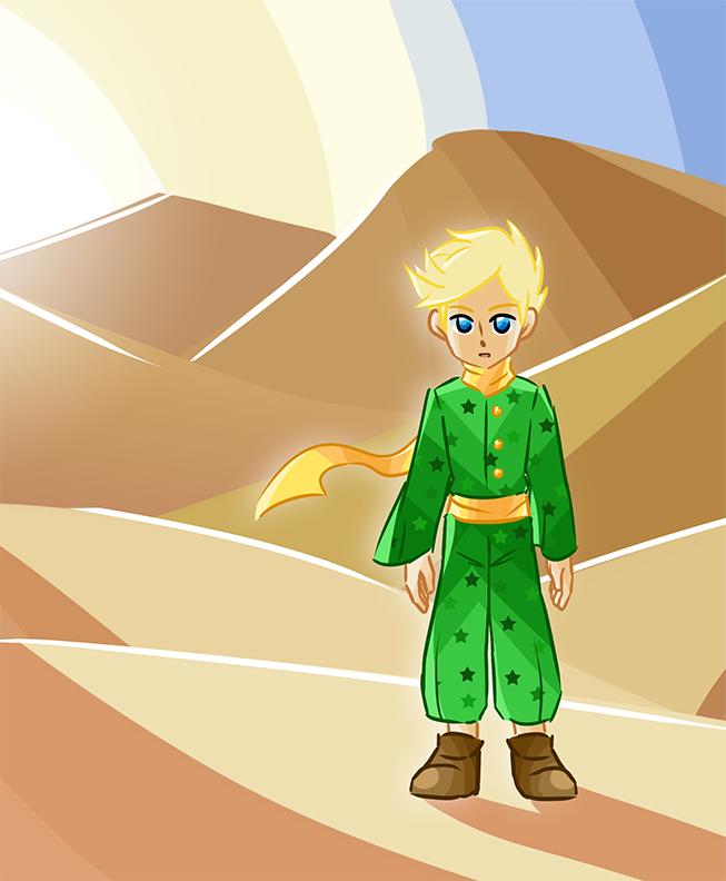 Fan Art - Le Petit Prince by Linkakami