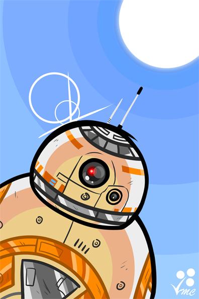 Fan Art - BB-8 by Linkakami