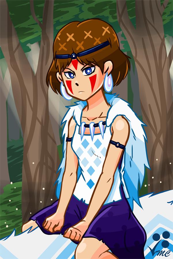Fan Art - San by Linkakami