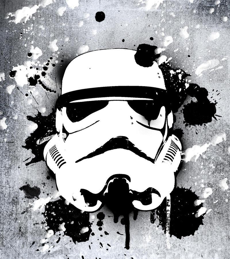gallery for stormtrooper art wallpaper
