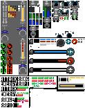 8-bit Mega Man Legends 2 HUD and Extra by Elmind
