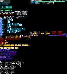 Azure Striker Gunvolt - 8-Bit HUD by Elmind