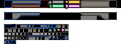 Original Mega Man HUD Design by Elmind