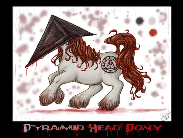 Pyramid Head Pony v2 by blackheartedhate