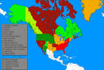 NEW north america without state borders