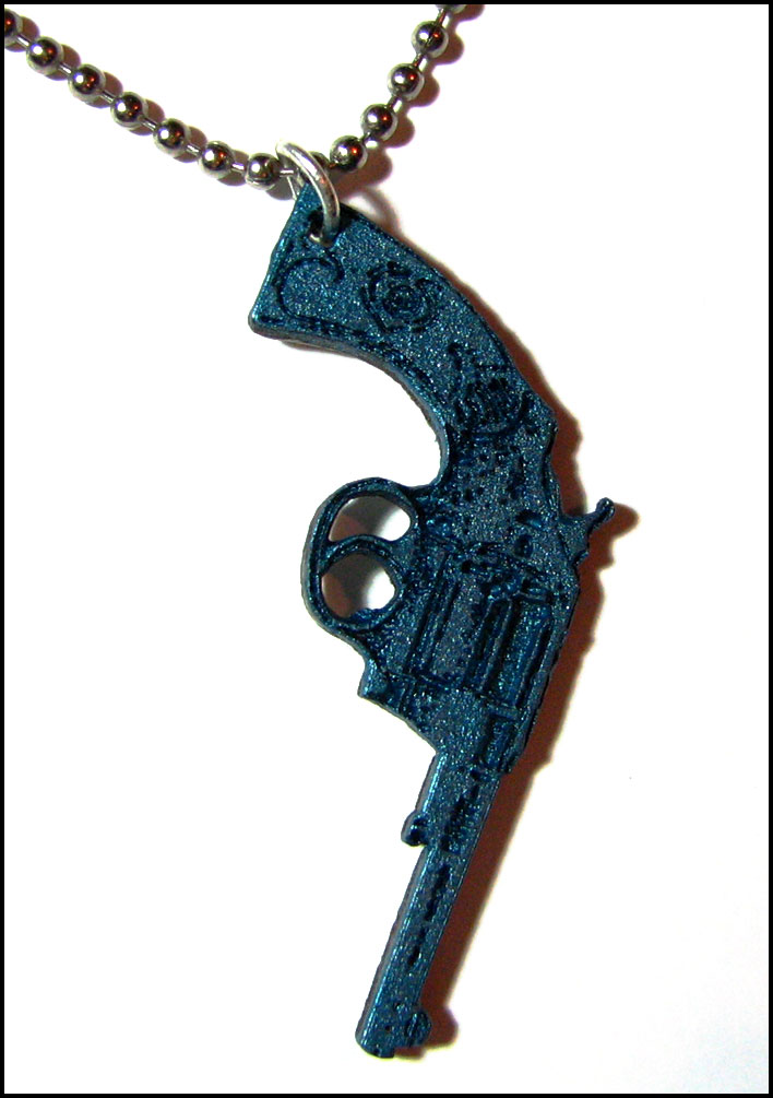 pistol necklace by bleedsopretty on deviantart