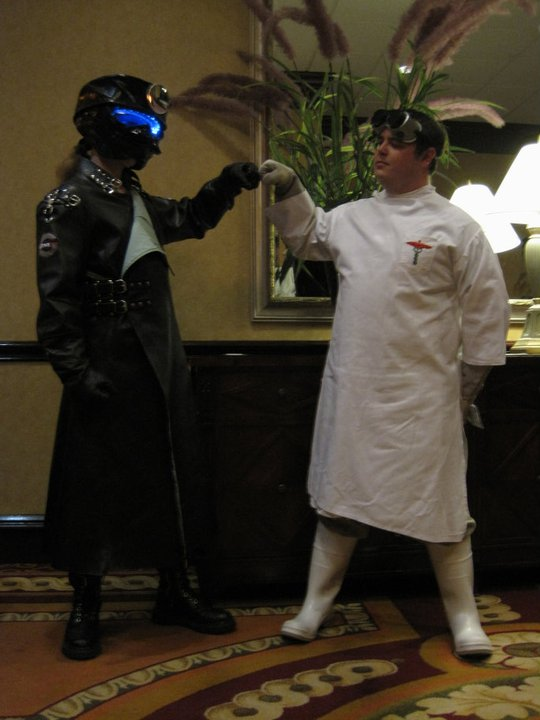 Repo Man and Doctor Horrible by LordDraco3