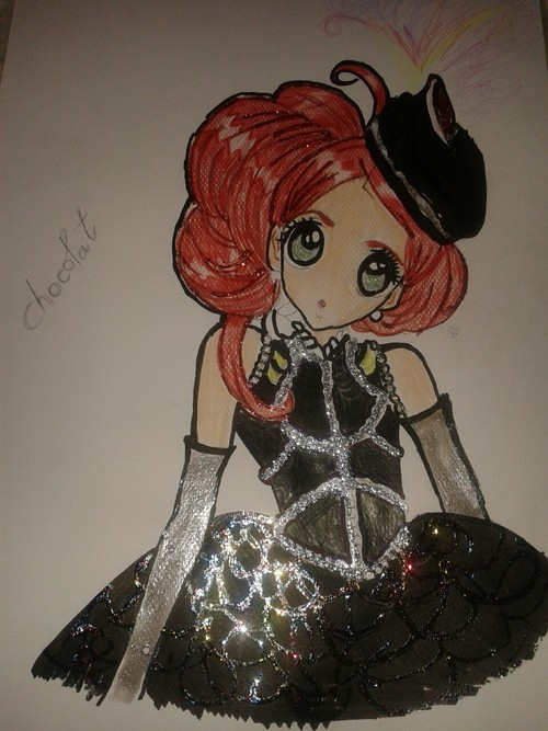 Chocolat drawing .:Still Unfinished:. by xXgothicXlolitaXx