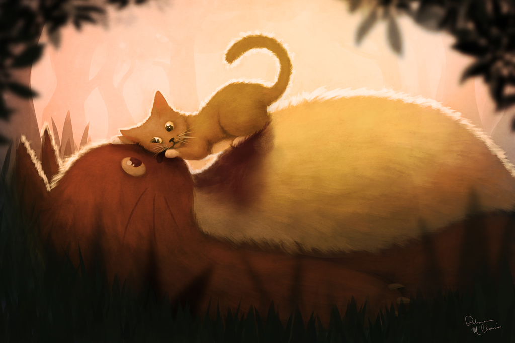 Toto x Totoro by Paloma-McClain