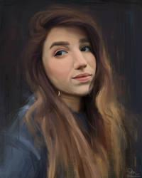 Self Portrait by Paloma-McClain