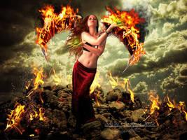 Fire Goddess by SuzieKatz